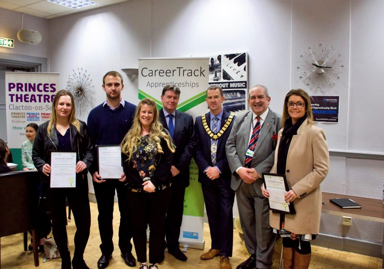 Council apprentices scoop career award