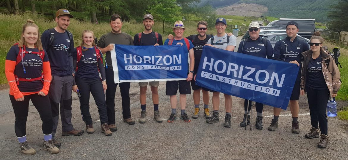 Horizon Construction team rises to the challenge