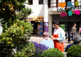 New Colchester town centre brand launched