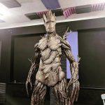 Groot sculpture raffled to help hospice